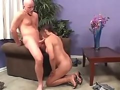 Happy shemale and her lover blowing