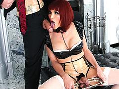 Eva Goes Down On Mistress Dani